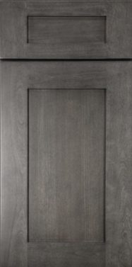 Greystone Shaker kitchen cabinets